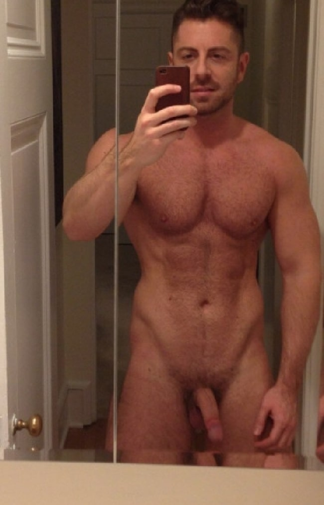 Hairy Nude Man With A Soft Cut Cock - The Cock Collector